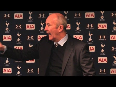 Tottenham 4-0 West Brom - Tony Pulis Full Post Match Press Conference