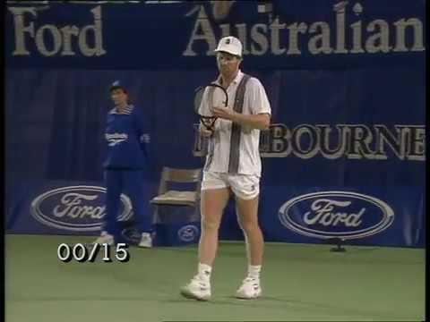 Australian Open 1996 QF Andre Agassi vs Jim Courier