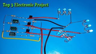 Top 3 Electronic Project Using BC547 Battery & More Eletronic Components