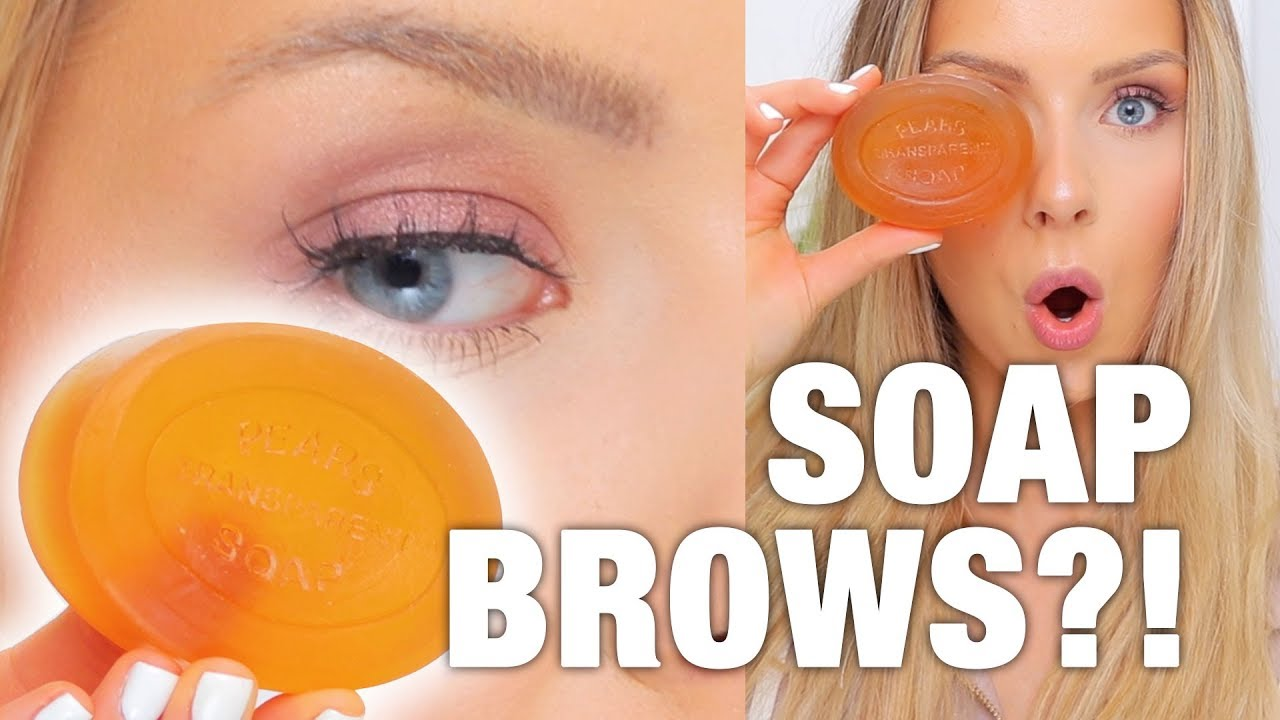 SOAP BROWS?! You've Got To Try This!