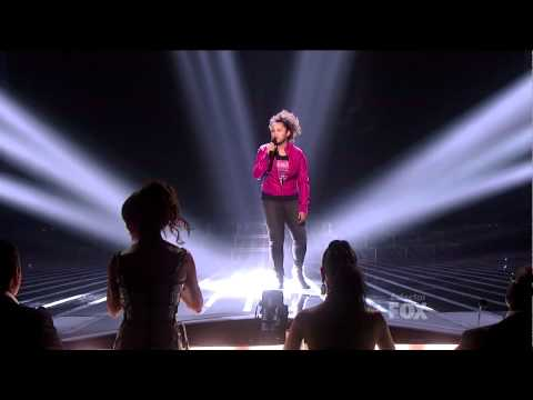 "Rachel Crow ""l'd Rather Go Blind"" - Elimination Show - X Factor USA - HD .mp4"