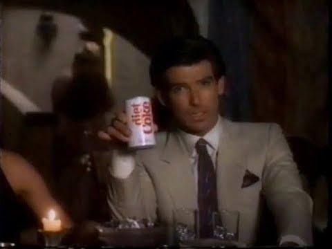 1986 - Diet Coke - Pierce Brosnan Commercial