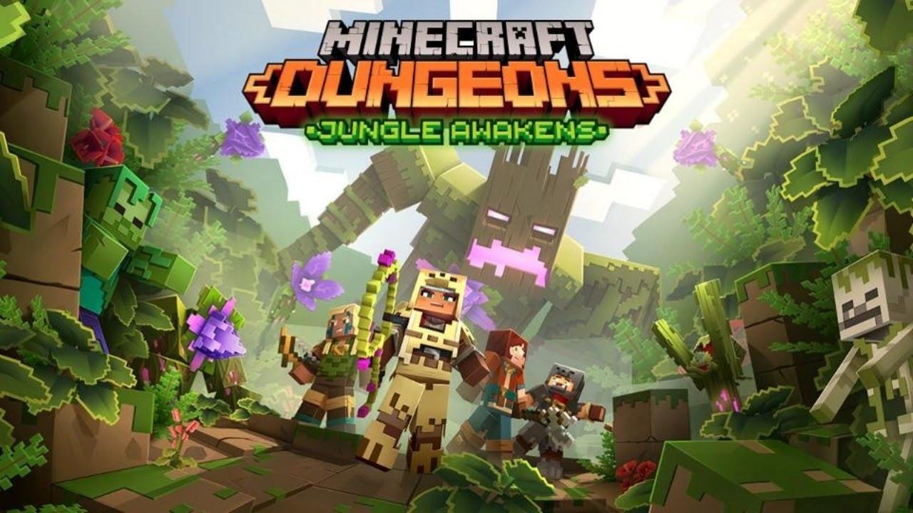 LA JUNGLA DESPIERTA DLC Minecraft Dungeons
