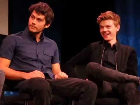 Thumbnail: Dylan O'Brien completely zoning out