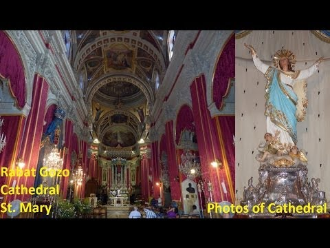 Rabat (G) St. Mary - Feast St. Mary 2013 - Photos of Cathedral - Peal 2 (1,2,3,4,5) - 5 Bells / 8