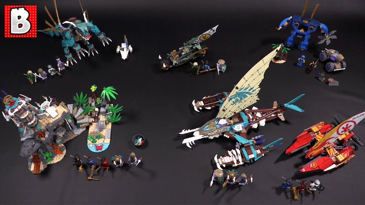 LEGO Ninjago The Island 2021 Wave Review! Sets 71748, 71747, 71746, 717145, 717140