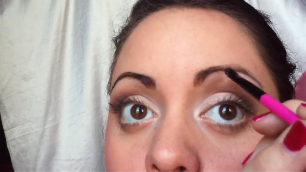 Augenbrauen Färben Anleitung