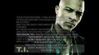 T.I. - Love This Life with lyrics