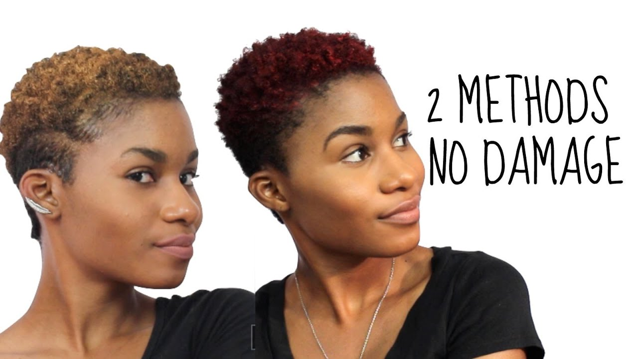 2 Easy Ways To Temporarily Color Your Hair With No Damage Youtube