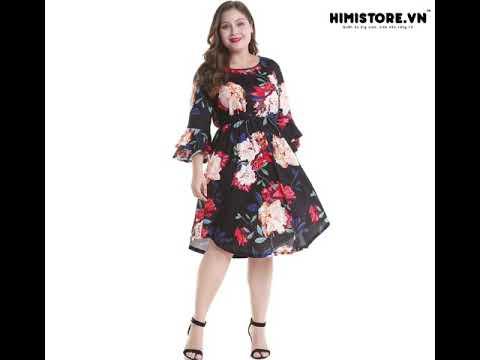 Đầm big size, quần áo big size, shop quần áo cho người mập – Bộ sưu tập Himistore.vn T12 2018