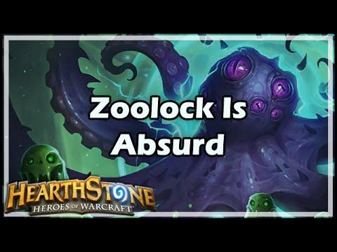 [Hearthstone] Zoolock Is Absurd