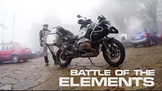 Battle of the Elements : BMW 2016 R1200GS Adventure & 2010 F650GS