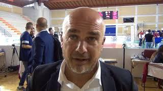 01-10-2017: #A2MVolley Vincenzo Mastrangelo nel post Real Gioia - Bolzano 3-1