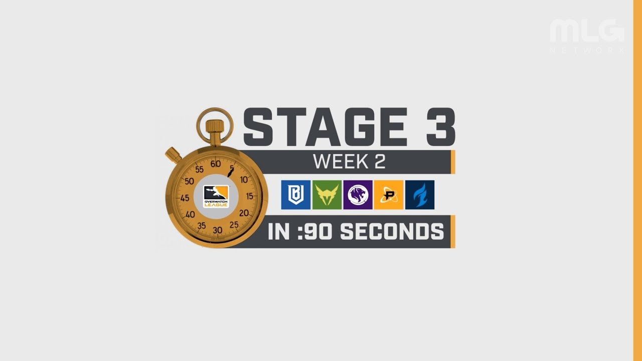 Overwatch Lig - Stage 3 Hafta 2, 90 Saniyede Galerisi
