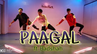 Paagal-Badshah   Choregraphy - Siddhant Tiwari   Performer- Sanjay Sagar & Deepak Yadav
