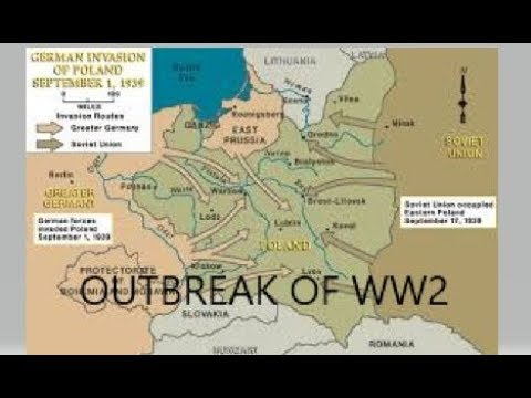 OUTBREAK OF WW2 {1st sept - 6th oct 1939}