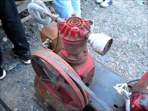 Antique Air Compressors