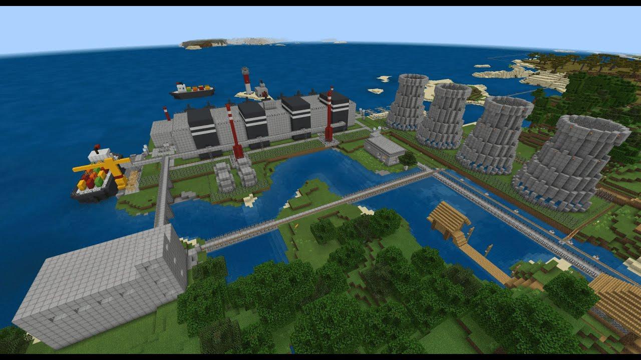 ATOM NPP V2.0 in Minecraft + Announcement - YouTube
