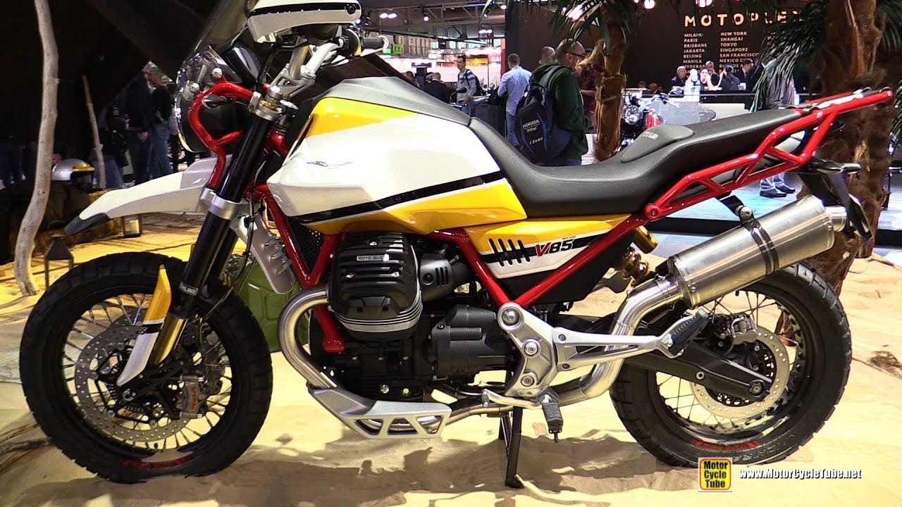 2018 moto guzzi v85 walkaround 2017 eicma milan motorcycle exhibition youtube. Black Bedroom Furniture Sets. Home Design Ideas