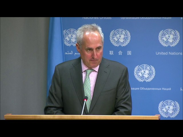 UN Chief condemns recent missile launch by DPRK & other topics - Daily Briefing (5 July 2017)