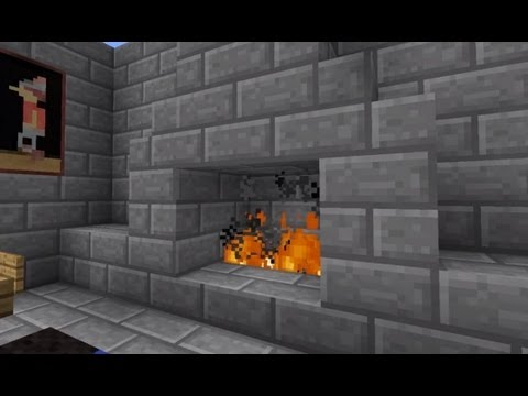 Minecraft Hidden Fireplace door 100 confirmed to work on Xbox and PC  YouTube