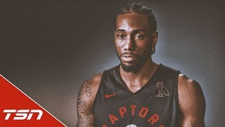 Kawhi chats with TSN about load management, Raptors fans, future in Toronto