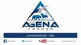 Verbinden eines CQG broker in AgenaTrader (Connection Guide).