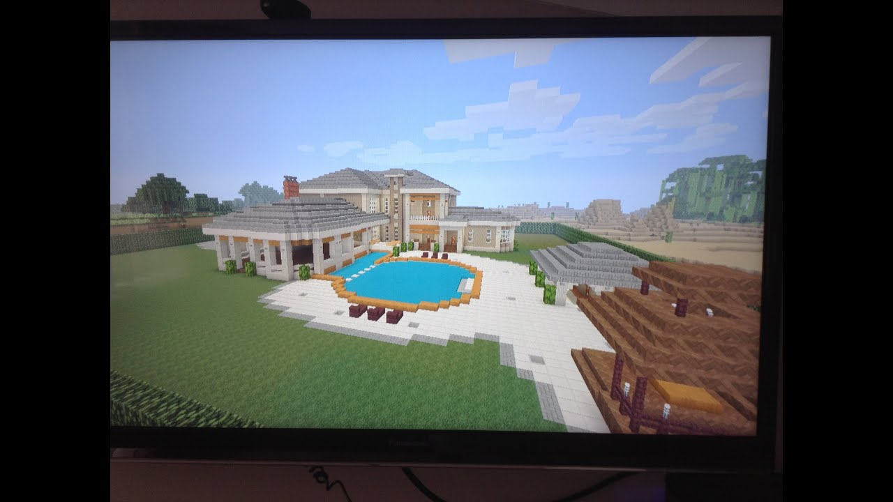 Minecraft ps4 epic house tour ideas youtube for Epic house designs