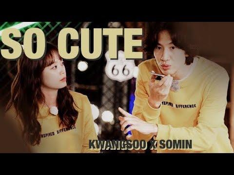 So Cute — Lee Kwangsoo X Jeon Somin (Running Man KwangMin / Betrayal Couple) ♡