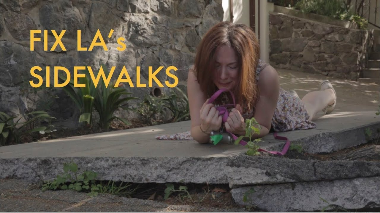 "Fix LA's Sidewalks (Pharrell's ""Happy"" Parody)"
