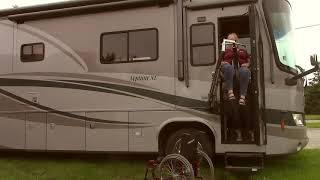 How It Works  How to Lift a Disabled Person Into a Class A Motor Home RV