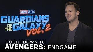 Chris Pratt Jokes About Not Liking Kurt Russell In 'Guardians' Vol. 2 | EXTENDED