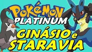 Pokémon Platinum (Detonado - Parte 12) - Ginásio dos Lutadores, Staravia e Mega Mart