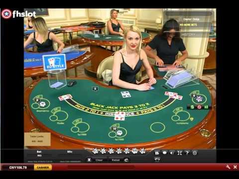 Blackjack - Playtech Live Dealers