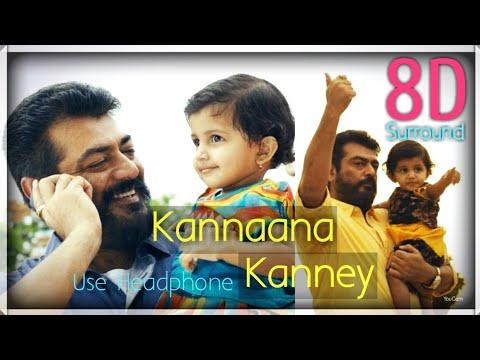 Kannaana Kanney 8D || Viswasam || Ajith Kumar || Nayanthara || D.Imman || 8D BeatZ