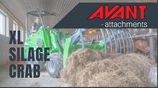 XL Silage Grab, Avant 300-700 Series attachment Thumbnail