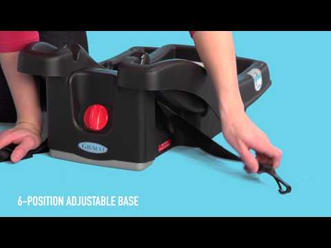 how to install graco car seat base click connect
