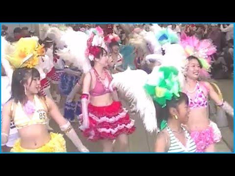 神戸サンバチーム 2019 天神橋の秋祭り Ⅰ  [大阪市]