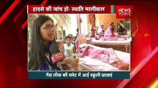 dcw chief swati maliwal in exclusive chat with nwi s pawan mishra on delhi chemical gas leak