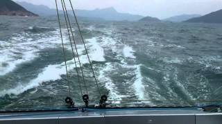 Catamaran BAÑULS 60 / MC²60 #1 Mach² sailing in Hong Kong (2/2)
