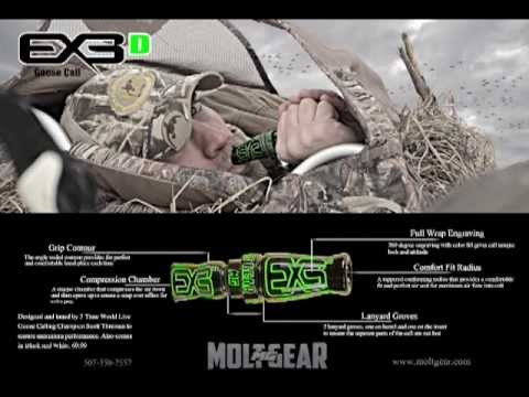 Mike Benjamin on the New 2013 EX3D Goose call