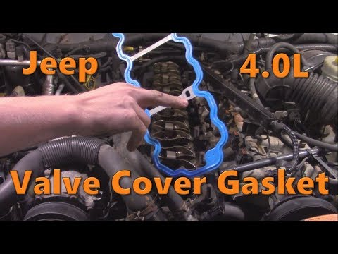 Jeep 4.0 Valve Cover Gasket Replacement