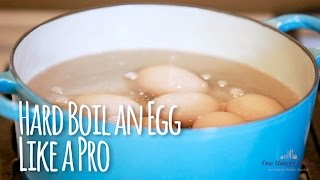 How To Hard Boil Eggs Like A Pro In 5 Easy Steps | One Hungry Mama