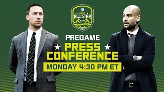 LIVE: MLS All-Star Team Pre-Game Press Conferences