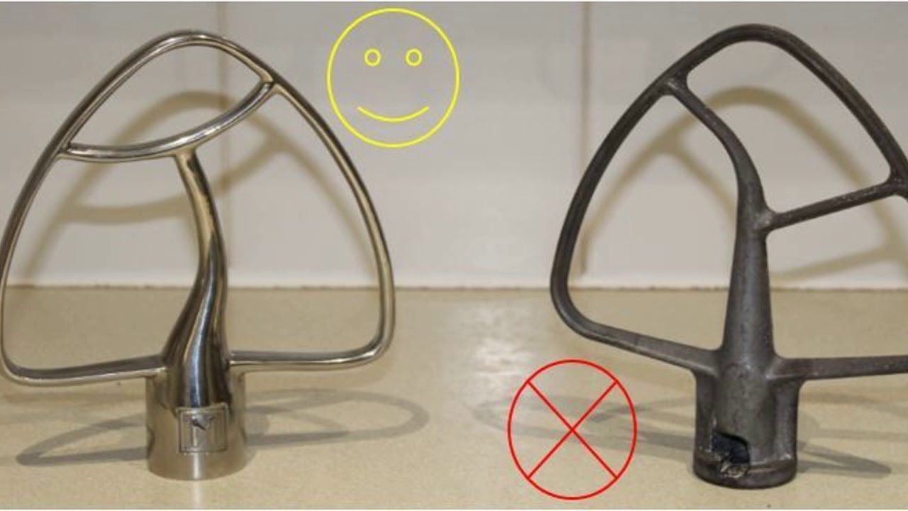 Our KA Stainless Steel Dishwasher safe Beater