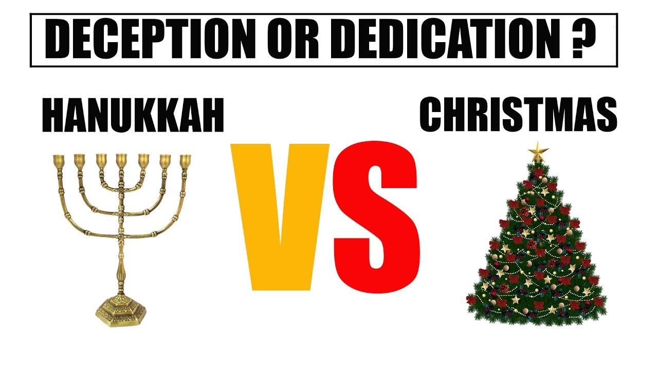 hanukkah vs christmas