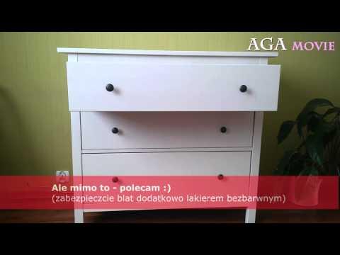 IKEA biała komoda KOPPANG - prezentacja, wady i zalety