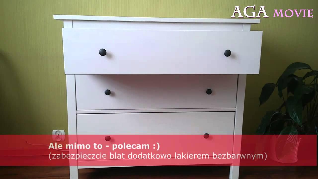 Ikea Biała Komoda Koppang Prezentacja Wady I Zalety Youtube