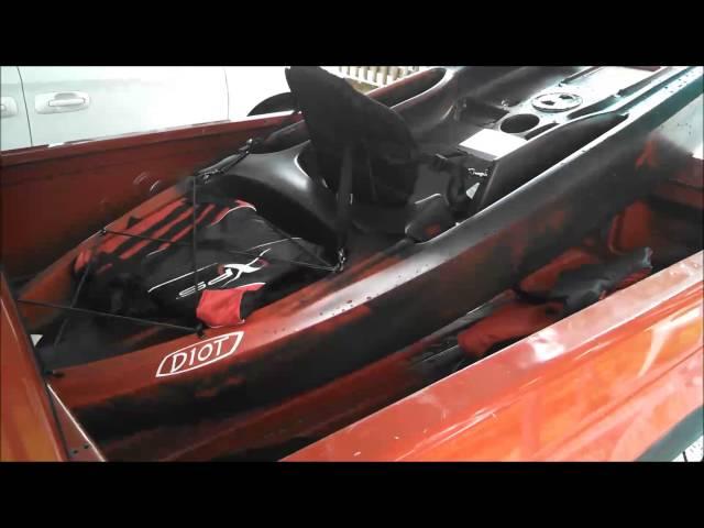 1BigKidOutdoors - Episode 1 - Ascend D10T kayak Review