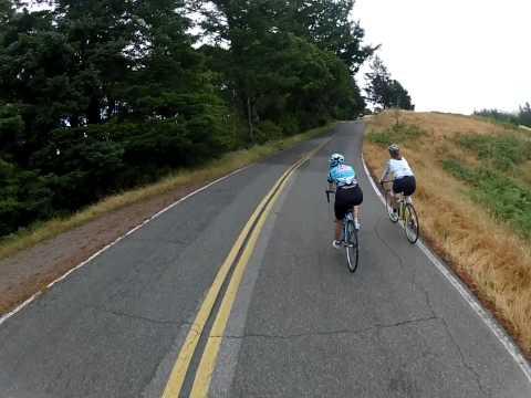 Shadow Cyclist: Mount Tam (Tamalpais), Marin, California